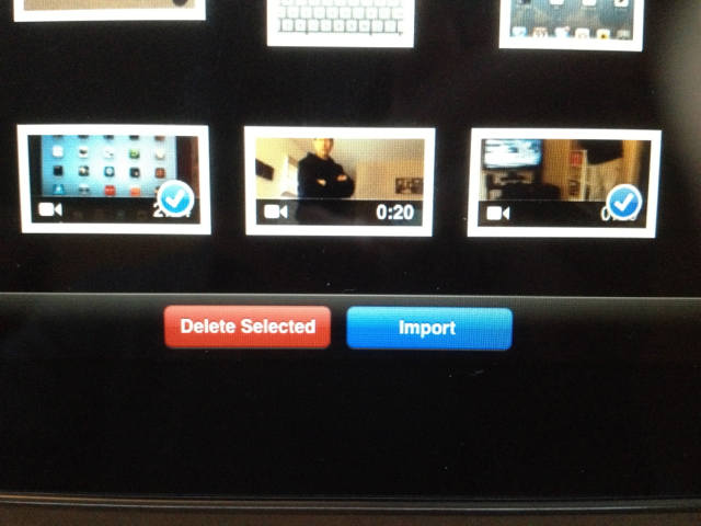 photo selection