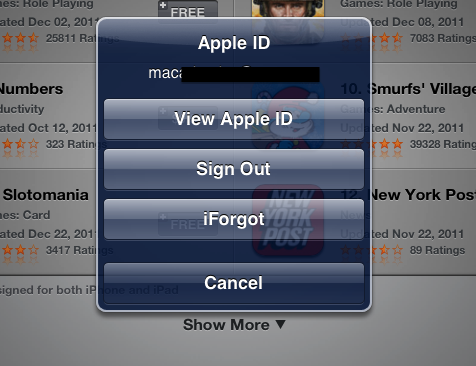Then after that you have to tap on the change the apple id
