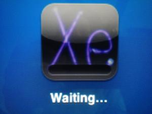 app stuck on waiting