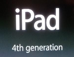 4th generation iPad