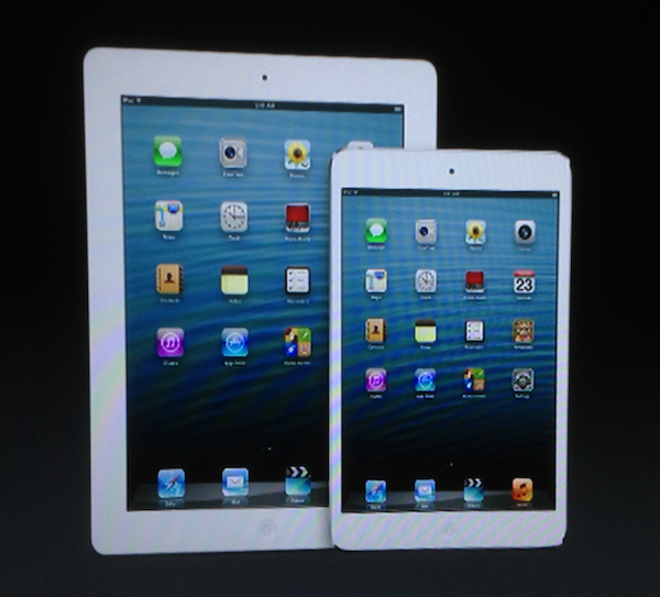 iPad 4 vs iPad mini