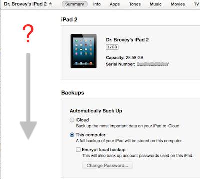 iTunes 11 sidebar missing