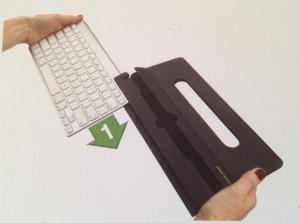attach keyboard
