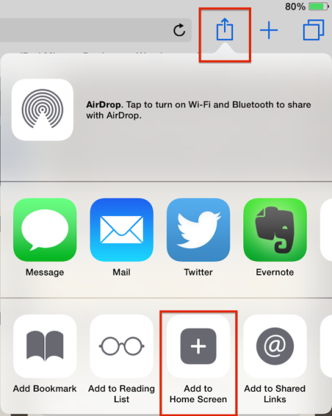How to Set Up Web Clips for Websites in Safari on iPad or iPhone
