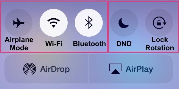 wireless - DND - mute