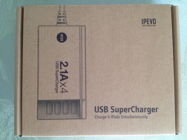 IPEVO SuperCharger box