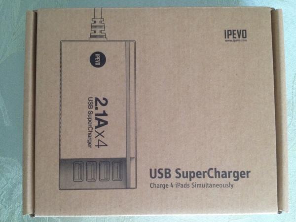 IPEVO SuperCharger box