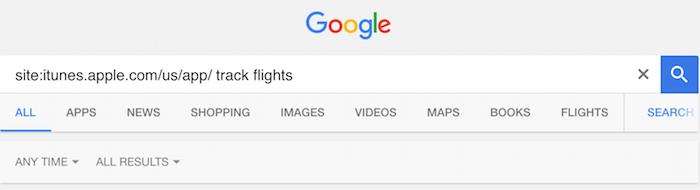 google app search 2