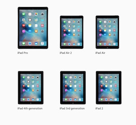 example iPad models